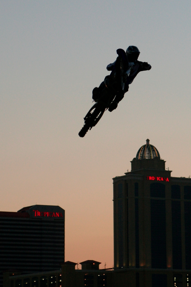 Sunset Acrobatics in Atlantic City