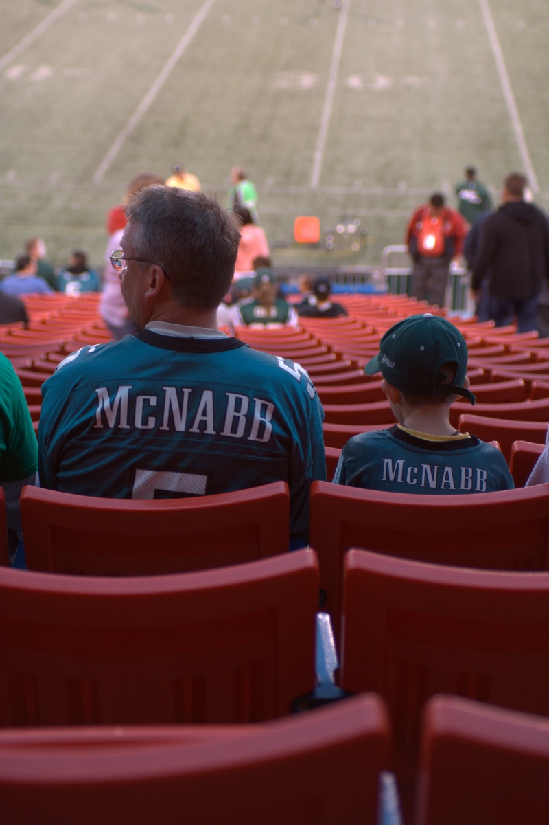 Football - It Runs in the Family ;)
